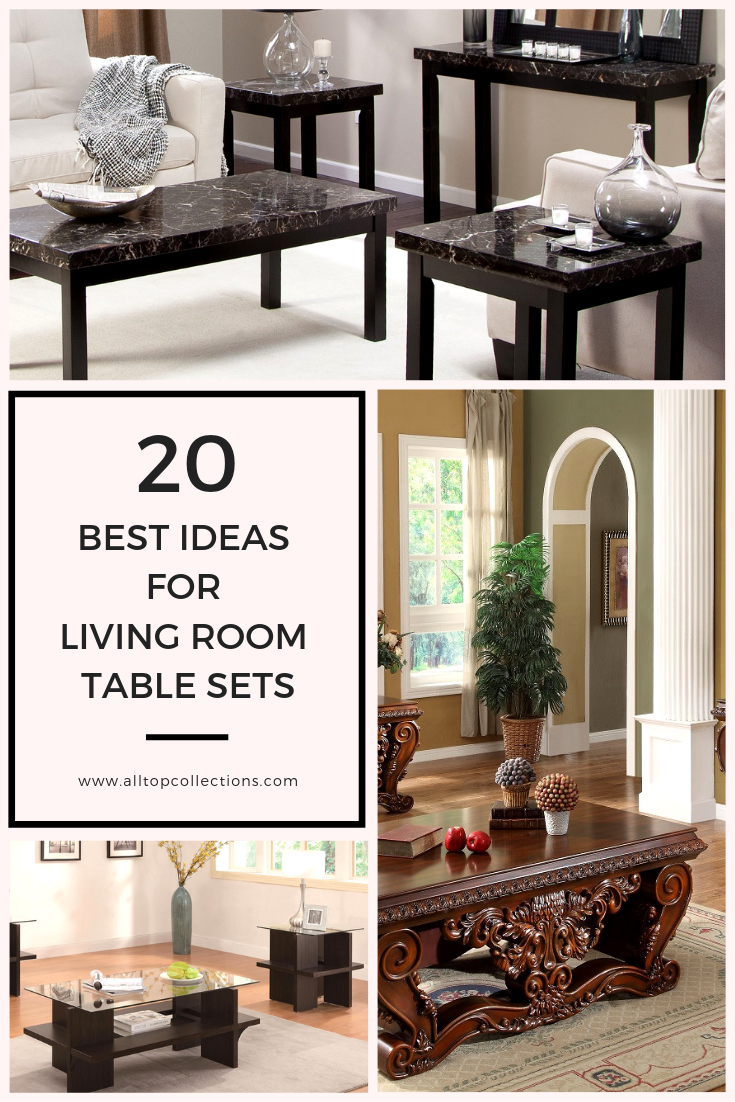 The 20 best ideas for living room table sets