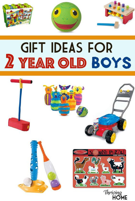 2 Year Old Boy Birthday Gifts  Two year olds Old boys and Gift ideas on Pinterest