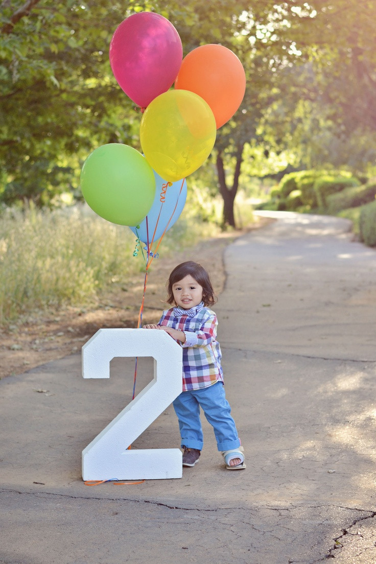 2 Year Old Boy Birthday Gifts  Happy birthday Two year old boy child kid balloons 2 pose