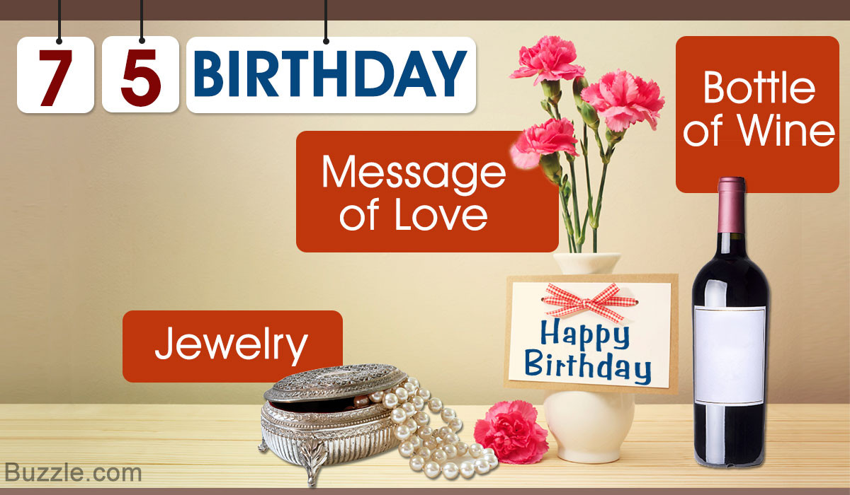75th Birthday Gifts  Looking for a 75th Birthday Gift for Mom or Dad We ll