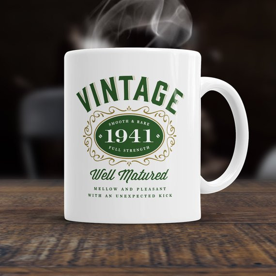 75th Birthday Gifts  75th Birthday 1941 Birthday 75th Birthday Gift 75th by