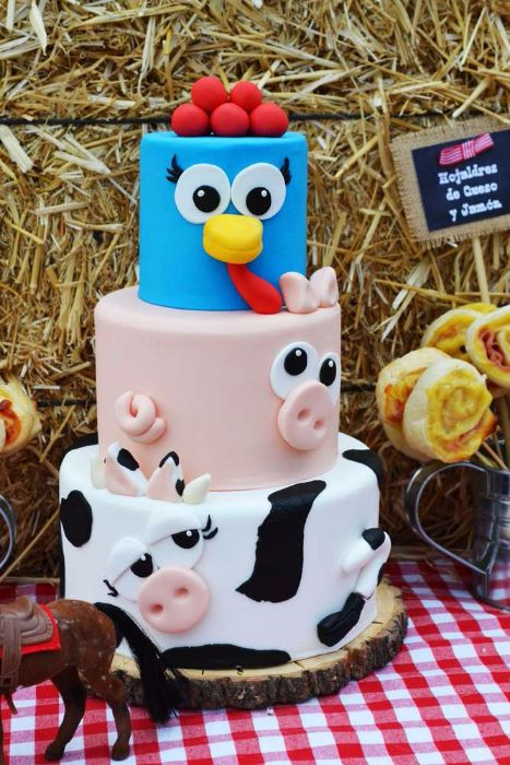 Animals Birthday Cake  32 Over The Top First Birthday Cakes Stay at Home Mum