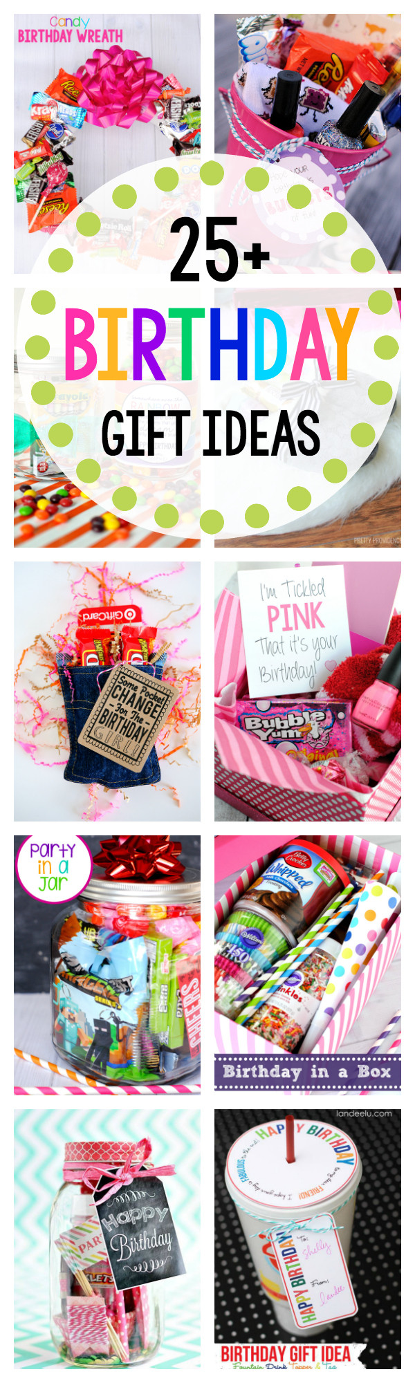 Birthday Present Ideas  Fun Birthday Gift Ideas for Friends Crazy Little Projects