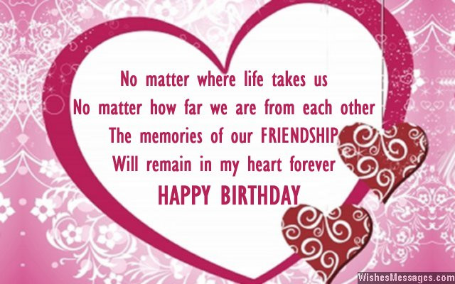 Birthday Wishes For Best Friend  Birthday Wishes for Best Friend Quotes and Messages