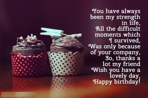 Birthday Wishes For Best Friend  Birthday Wishes for Friend Happy Birthday Friend