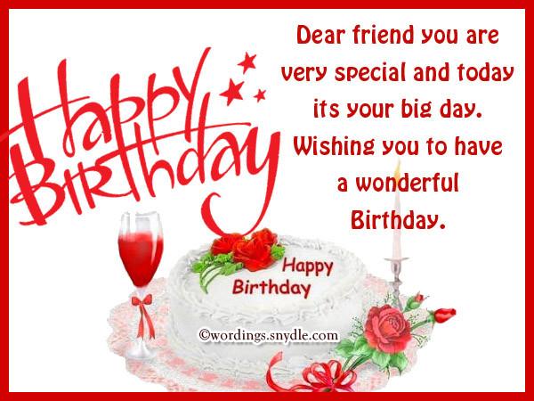 Birthday Wishes For Best Friend  Happy Birthday Messages for Bestfriend Wordings and Messages
