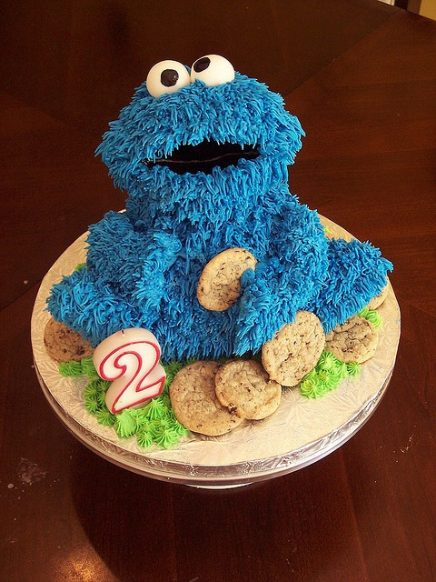 Cookie Monster Birthday Cake  284 best images about Sesame Street theme birthday party