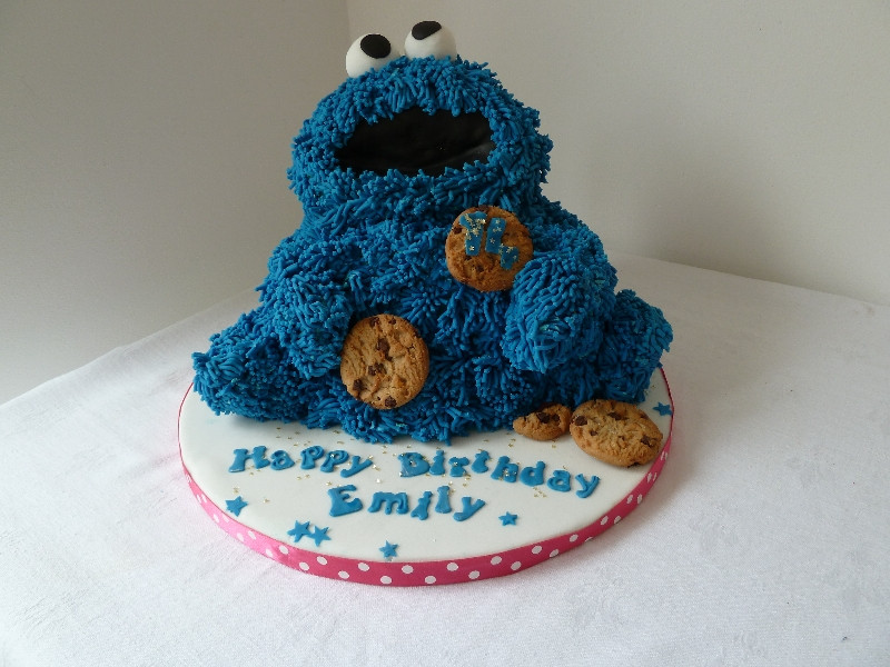 Cookie Monster Birthday Cake  Cookie Monster Cakes – Decoration Ideas