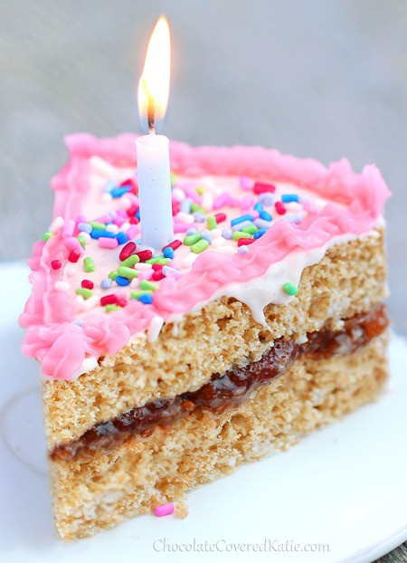 Healthy Birthday Cake Recipes  Healthy Birthday Cake It holds its own against any boxed