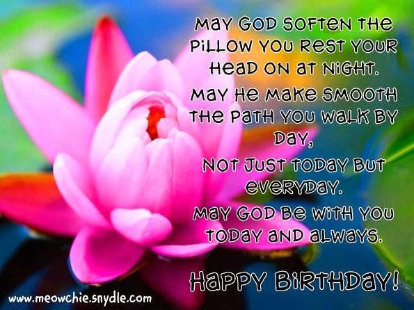 Religious Birthday Quotes  Status Happy Birthday Quotes Greetings Status