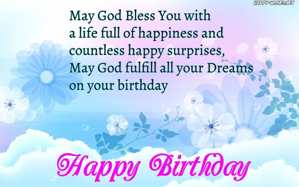 Religious Birthday Quotes  Christian Birthday Wishes Religious Quotes Happy Wishes