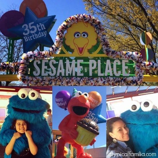 Sesame Place Birthday Party  Sesame Place 35th Birthday Celebration