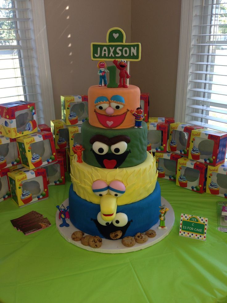 Sesame Place Birthday Party  Sesame place birthday cake Sesame birthday party