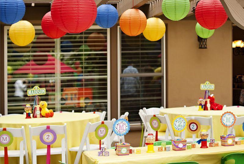 Sesame Place Birthday Party  Sesame Street 2nd Birthday Party