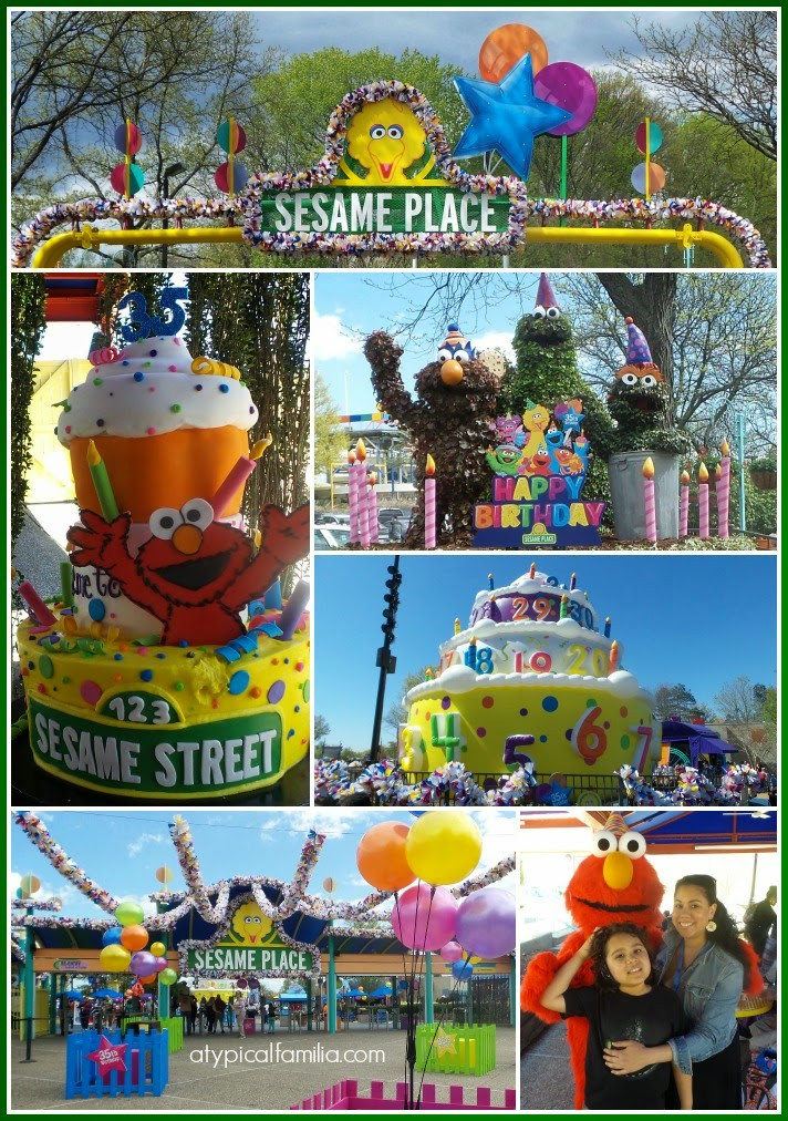 Sesame Place Birthday Party  Sharing is caring