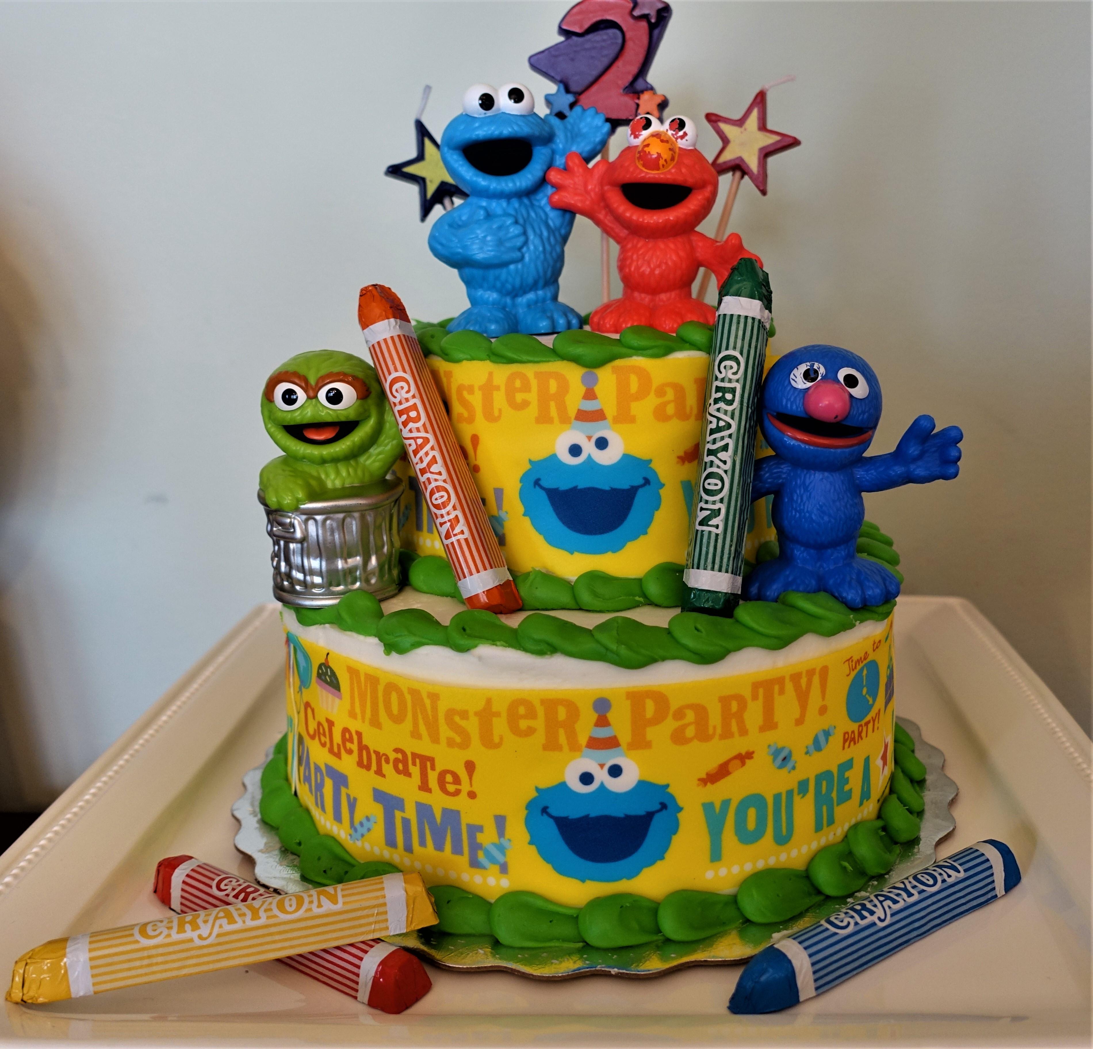 Sesame Place Birthday Party  Sesame Street Theme Birthday Party