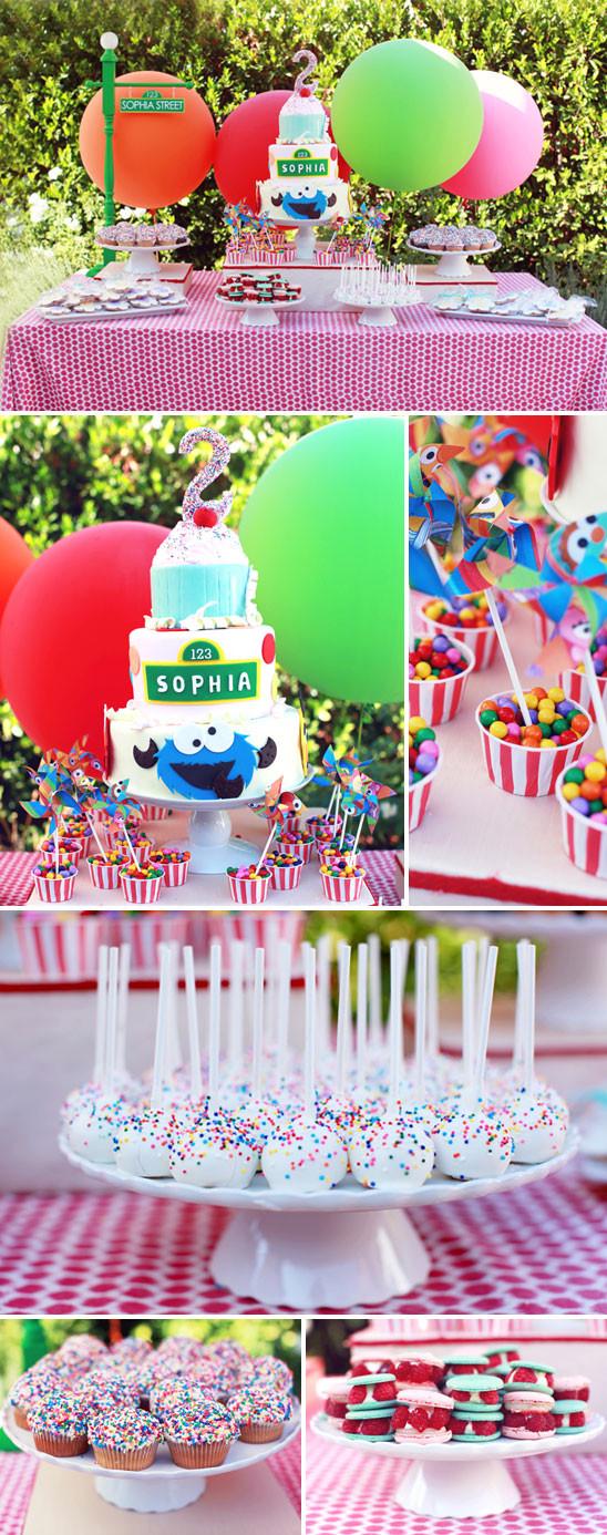 Sesame Place Birthday Party  Sophia s Sesame Street Themed Birthday Party
