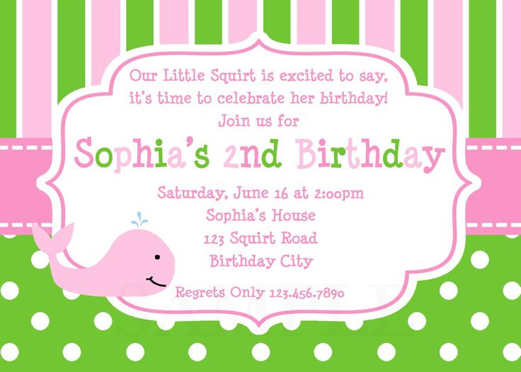 Walmart Photo Birthday Invitations  1000 ideas about Birthday Invitation Templates on