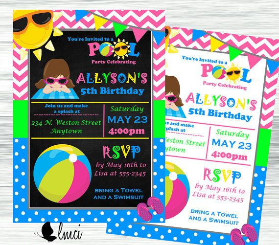 Walmart Photo Birthday Invitations  51 best Birthday Invitations images on Pinterest