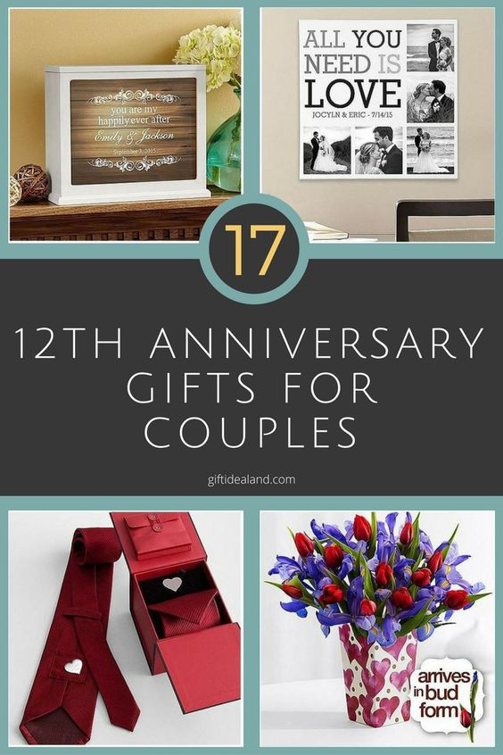 Best ideas about 10Th Anniversary Gift Ideas For Couples . Save or Pin Anniversary ts for couples Wedding anniversary ts Now.
