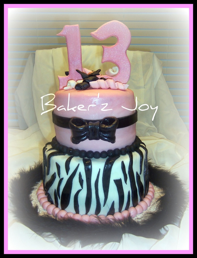 13 Years Old Birthday Cake  This Cake Is A Perfect Example A Typical 13 Year Old's