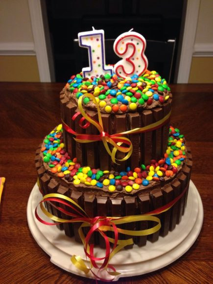 13 Years Old Birthday Cake  Sweet Birthday Cake for 13 Year