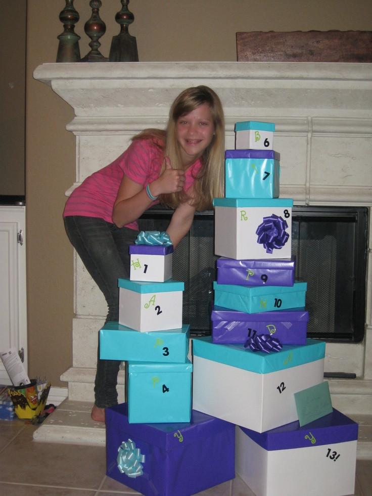 13Th Birthday Gift Ideas  13 Gifts for my girls 13th Birthday