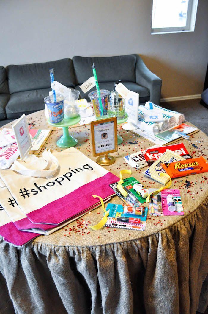 13Th Birthday Gift Ideas  Kara s Party Ideas Glam Instagram Themed 13th Birthday