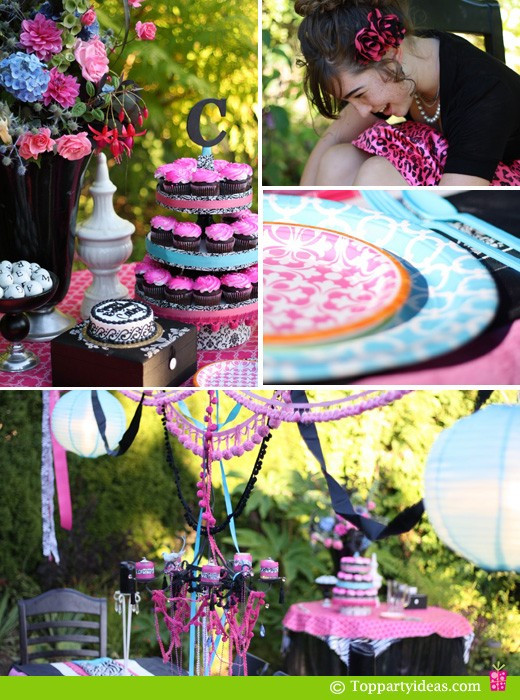 13th Birthday Party  13th Birthday Party Ideas for Girls