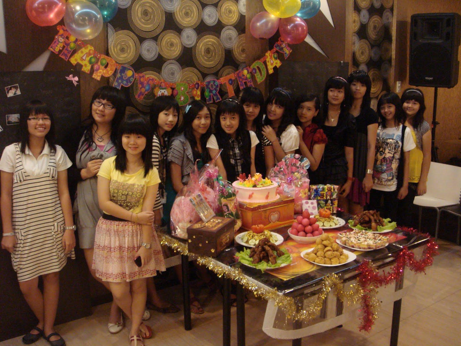13th Birthday Party  Sylvia s daily life ♥ My 13th Birthday Party