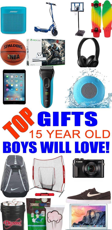 15 Year Old Birthday Gift Ideas  Best 25 Teen boy christmas ts ideas on Pinterest