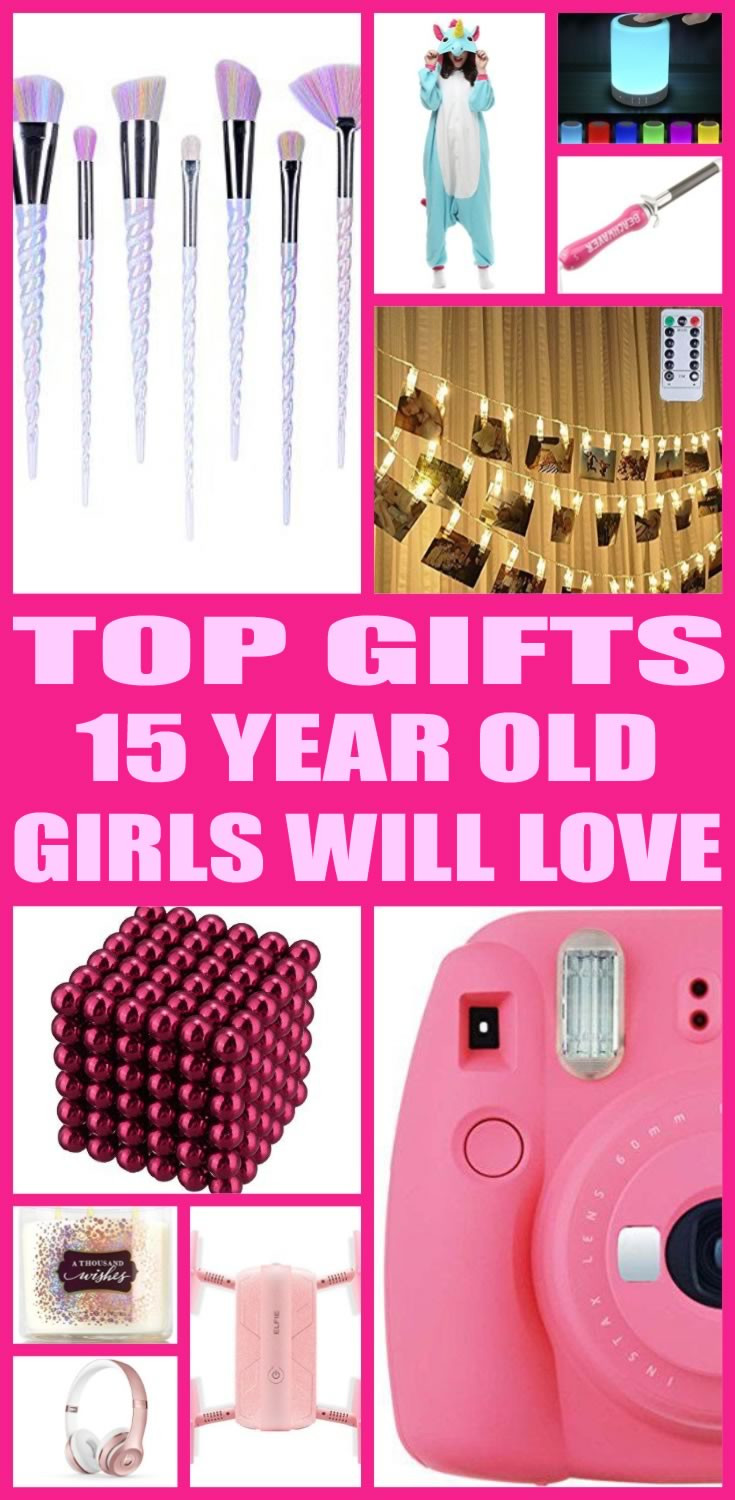 15 Year Old Birthday Gift Ideas  Best Gifts for 15 Year Old Girls