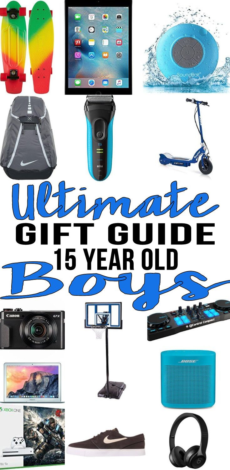 15 Year Old Birthday Gift Ideas  Best Gifts 15 Year Old Boys Actually Want
