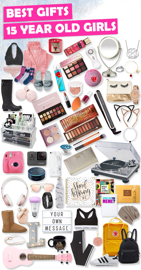 15 Year Old Birthday Gift Ideas  Gifts for 15 Year Old Girls