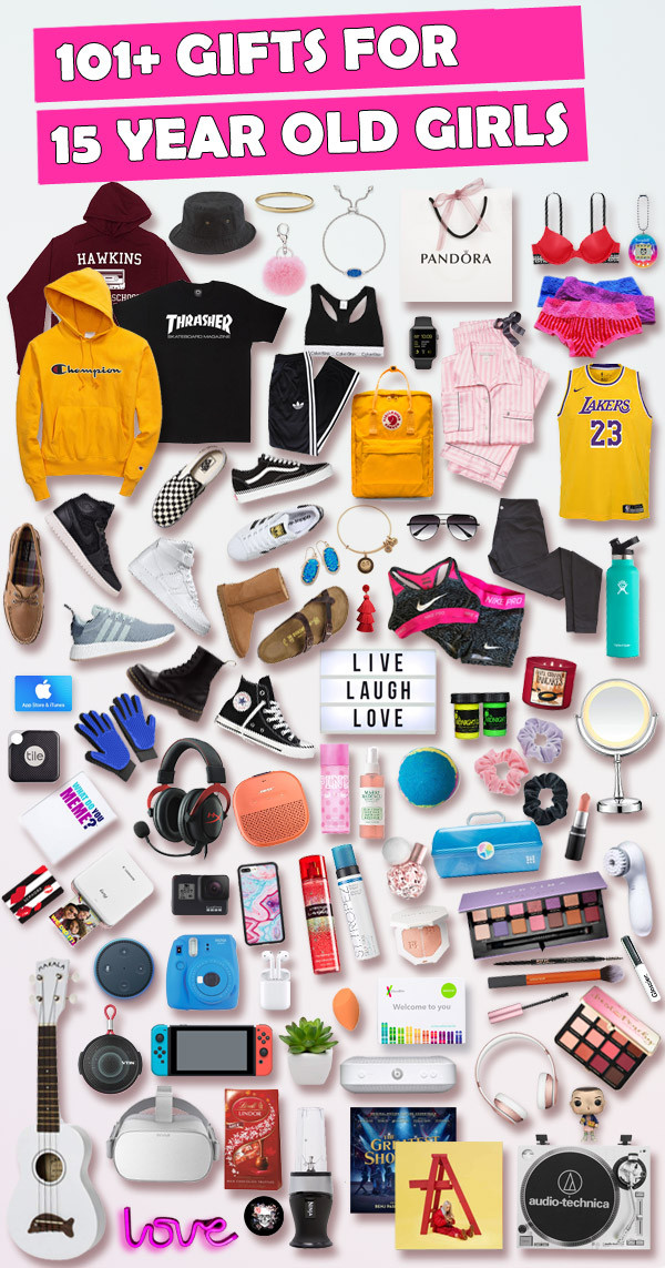 15 Year Old Birthday Gift Ideas  Gifts for 15 Year Old Girls [HUGE list] Best Gifts for