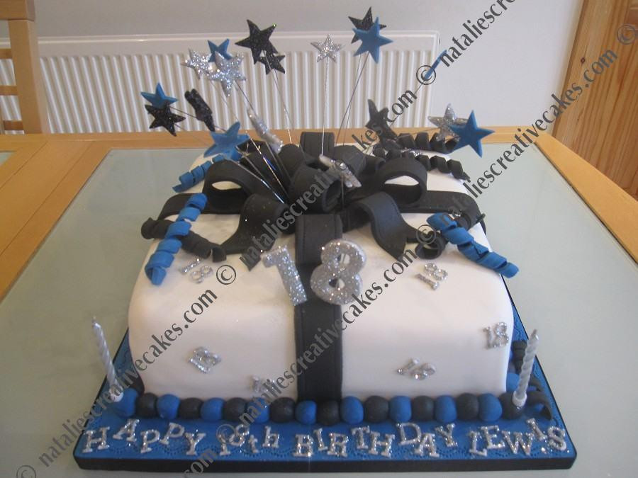 18th Birthday Gifts For Guys  18th Birthday Cake Ideas For Men