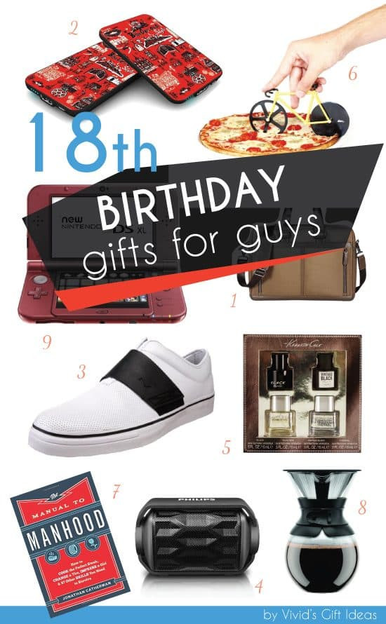 18th Birthday Gifts For Guys  Awesome 18th Birthday Gift Ideas for Guys Vivid s