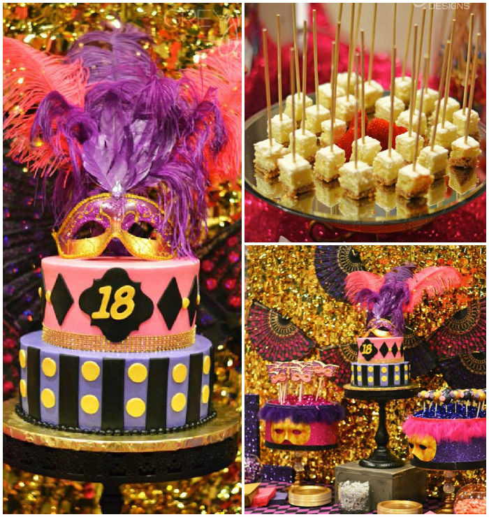 Best ideas about 18th Birthday Party Decorations . Save or Pin Kara s Party Ideas Masquerade 18th Birthday Party Now.