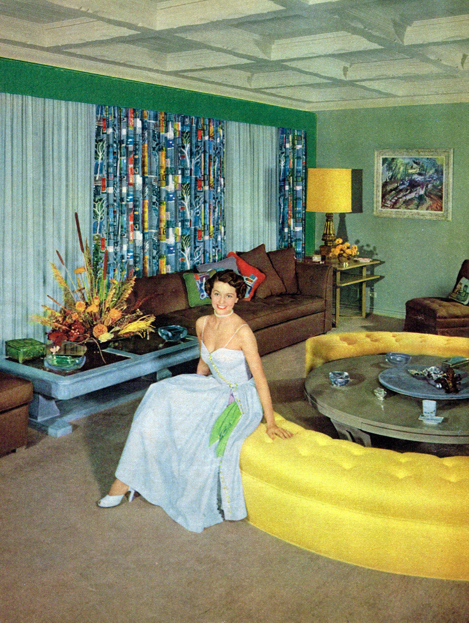 Best ideas about 1950S Living Room . Save or Pin 1950s Unlimited dtxmcclain Cyd Charisse in her living Now.
