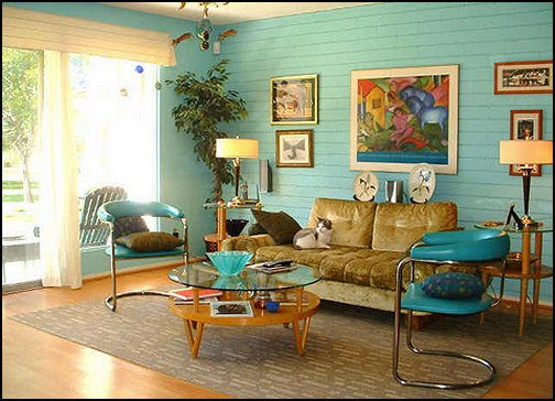 Best ideas about 1950S Living Room . Save or Pin Decorating theme bedrooms Maries Manor 50s bedroom Now.