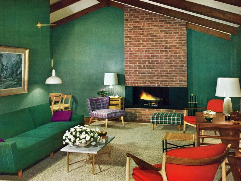 Best ideas about 1950S Living Room . Save or Pin 1950s Living Room Mid Century Ideas Now.