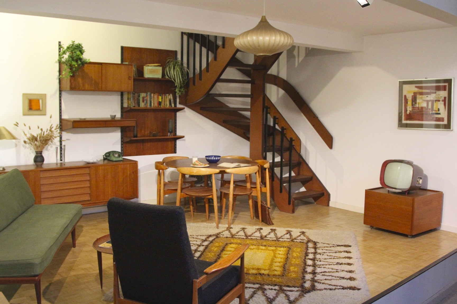 Best ideas about 1950S Living Room . Save or Pin 1950s living room Geffrye Museum London England Now.