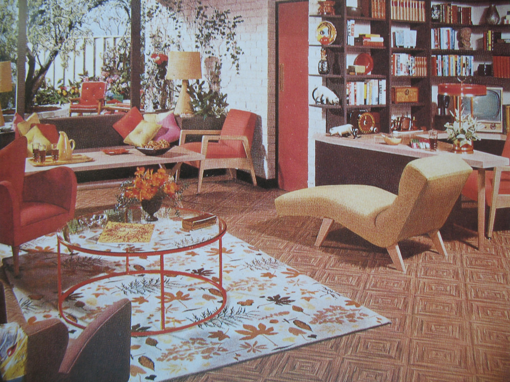 Best ideas about 1950S Living Room . Save or Pin 50s living room on Pinterest Now.