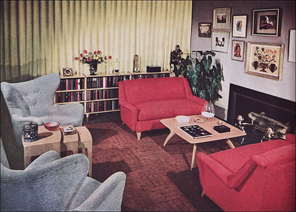 Best ideas about 1950S Living Room . Save or Pin Living room trends from the 50s to now Now.
