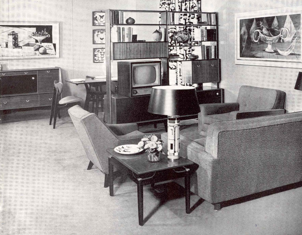Best ideas about 1950S Living Room . Save or Pin Décoration 1950 Best Home Decoration World Class Now.