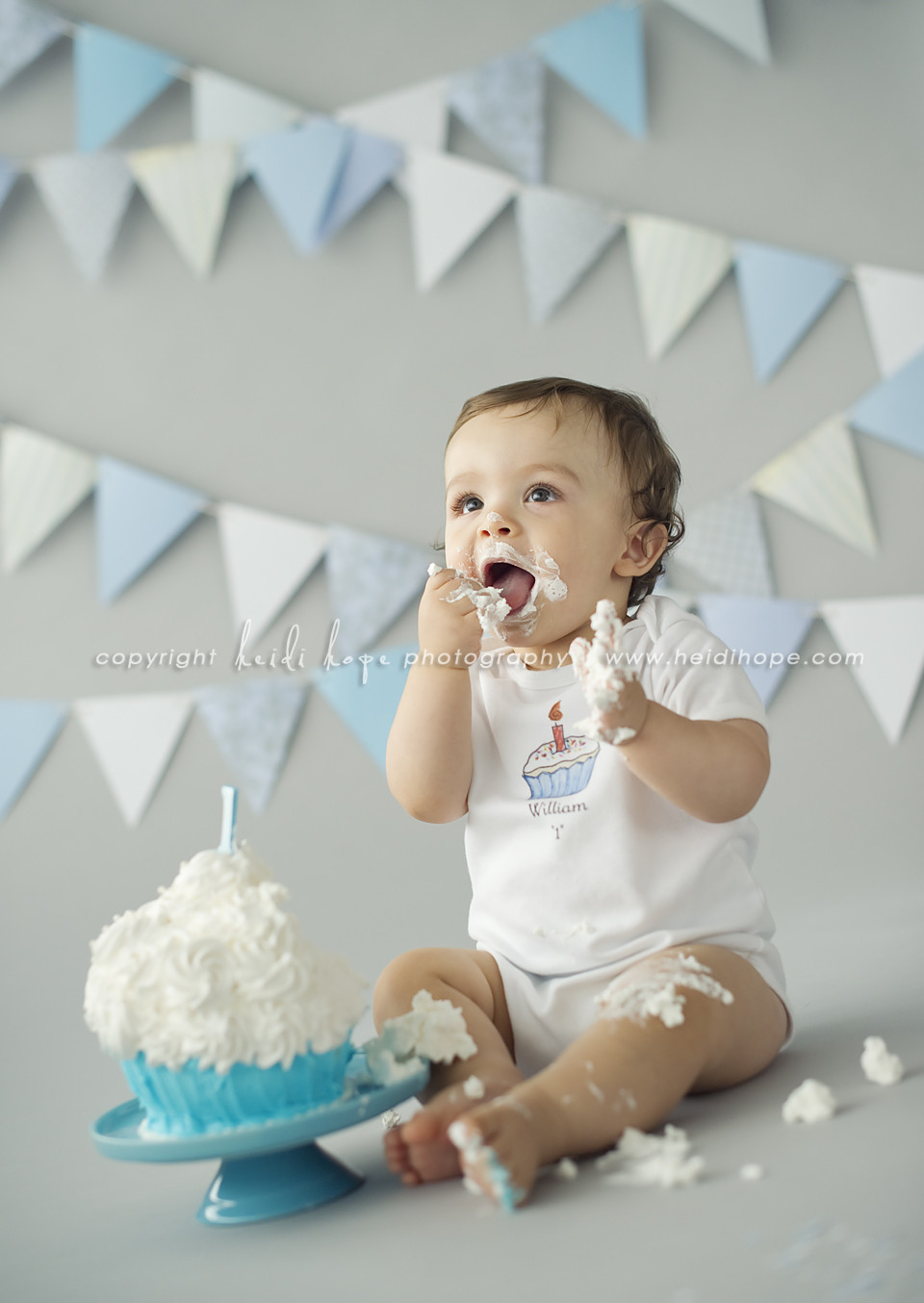 Best ideas about 1st Birthday Smash Cake . Save or Pin Baby W turns one year old Massachusetts first birthday Now.