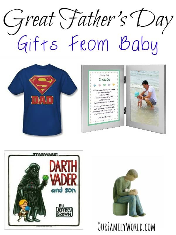 Best ideas about 1St Fathers Day Gift Ideas . Save or Pin Great Father s Day Gifts From Baby Our Family World Now.