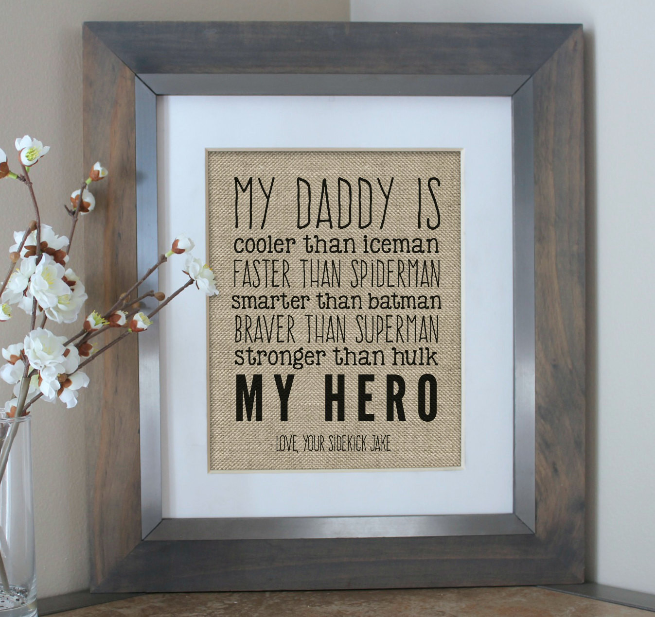 Best ideas about 1St Fathers Day Gift Ideas . Save or Pin First Fathers Day Gift Fathers Day from Son Fathers Day Now.