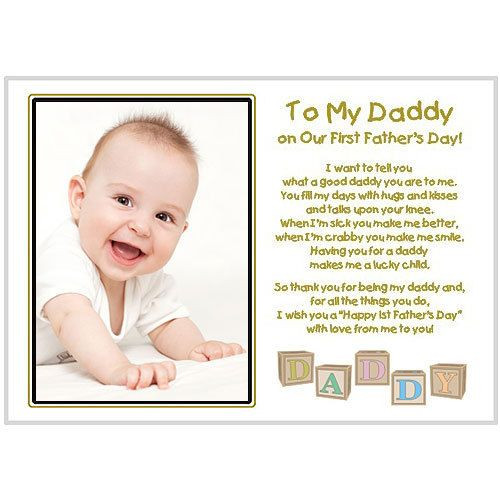 Best ideas about 1St Fathers Day Gift Ideas . Save or Pin New Dad To My Daddy Our First Fathers Day Touching Now.