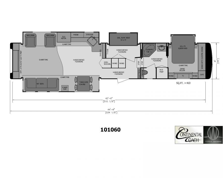 Best ideas about 2 Bedroom 5Th Wheel Floor Plans . Save or Pin 3 bedroom rv 5th wheel 28 images 3 bedroom 5th wheel Now.